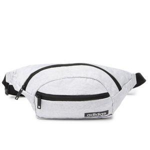 Adidas Core Belt Bag Fanny Pack Light Grey NWT